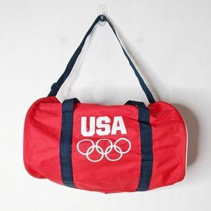 Team USA Olympics Duffle Gym Overnight Bag